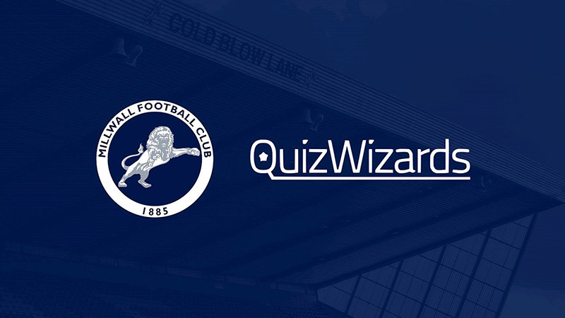 QuizWizards Teams Up With Wycombe Wanderers And Millwall To deliver A Unique Fan Experience Ahead Of and During Their Fixture